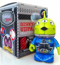 "DISNEY VINYLMATION 3"" ROBOTS 3 LITTLE GREEN MEN ALIEN TOY STORY TOY FIGURE NEW"