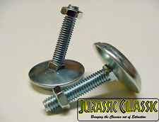 "2PC Pinball Machine Arcade 2"" Leg Levelers Floor Jack Screw Pads Feet Bolt Stern"