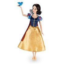 "Disney Store Princess Snow White Classic Doll w/ Bluebird Poseable Figure 12"""
