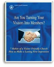 7 Habits of a Visitor-Friendly Church 4 Cassette Tapes