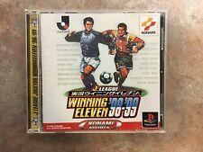 J LEAGUE JIKKYO WINNING ELEVEN 98-99 PS1 Playstation PS Konami Game Japan p1