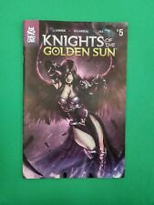 Knights of The Golden Sun #5 Mad Cave Comics 2019 New Unread