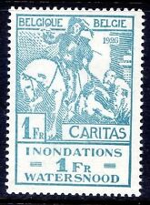 Lightly Hinged Single Belgian & Colonies Stamps