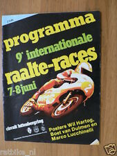 1980 INT. WEGRACES RAALTE 7/8-6-1980 LUTTENBERG,POSTER HARTOG,LUCCHINELLI,SC025