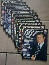 James Bond  007 Car Collection magazine x 12 issues