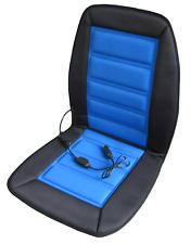 ABN Heated Car Seat Cushion Heating 12 Volt Blue/Black Chair Cover Pad