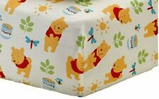 Winnie the Pooh: Sunny Day Fitted Crib Sheet by Disney Baby