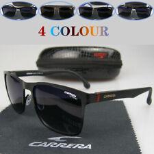 Carrera очки унисекс мужские женские модные солнцезащитные очки квадратный матовый металлический каркас