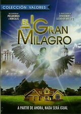COLECCION DE VALORES~ EL GRAN MILAGRO NEW DVD NTSC REGION 1& 4