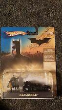 DC Comics Hot Wheels BatMan Begins BatMobile w/mini Fig 2005 Mattel H6294-0780