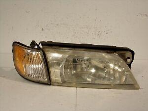 98 99 1998 1999 INFINITI I30 PASSENGER RIGHT HEADLIGHT LAMP LENS ASSEMBLY #9690