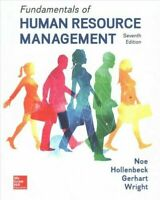 Fundamentals of Human Resource Management by Barry Gerhart, Raymond Andrew Noe,