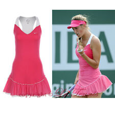 BNWT NIKE BY VICTORIA AZARENKA SET POINT KNIT Tennis Skirt Golf Run Dress - XS
