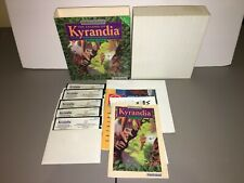 """Complete Boxed The Legend of Kyrandia Book One - IBM PC Game 5.25"""" w/ Poster"""