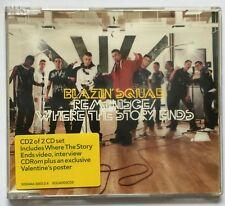Reminisce/Where the Story Ends by Blazin' Squad (1999, CD single) Very Good:CD2