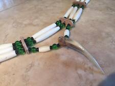 Native american choker Badger claw indian choker pow wow regalia mountain man