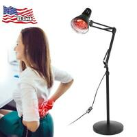 Infrared Floor Stand Lamp Therapy Therapeutic Muscle Pain Relief Heat Light