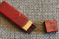 VINTAGE RED TOP EVERSHARP LEADS, THE WAHL CO., PENCIL LEAD TIN -still Has Leads