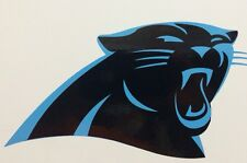 "Carolina Panthers Decal 3.75""x7"" 2 Color Vinyl*FREE SHIPPING*"