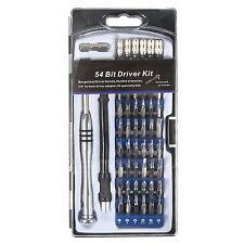 54 in 1 Precision Screwdriver Set Bit Magnetic Driver Kit Repair Tool Accessory