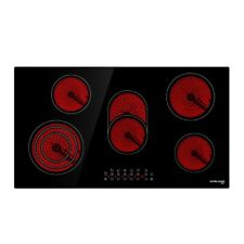 GASLAND chef CH90BF Ceramic Cooktop 5 Zones Cooker Glass Touch Electric Burners