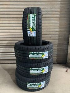 4 X 225 40 18 ROADCRUZA RA710  92W EXTRA LOAD TYRES 2254018 W RATED BRAND NEW