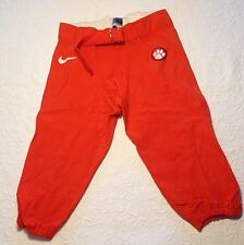 CLEMSON Tigers Authentic Player-Issued Football GAME PANTS - Orange w/ White