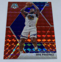 2019-20 Mosaic Eric Paschall Red Prizm Mosaic Rookie RC Warriors #250