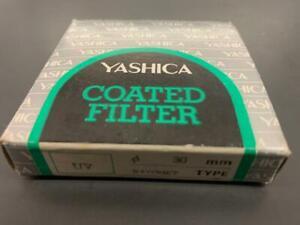 Yashica 30mm UV Bay R1 filter ring Open box