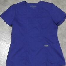 Grey's Anatomy Royal Blue Scrub top-Sml