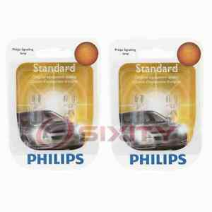 2 pc Philips Rear Side Marker Light Bulbs for Scion iA 2016 Electrical yd