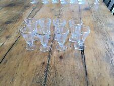 8 Anciens Verres Fin Bistrot Calvados