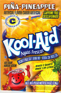Kool-Aid Drink Mix Pina Pineapple 10 Packets sealed NEW