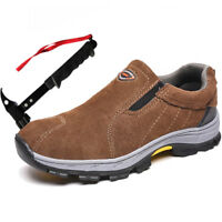 Mens Safety Boots Steel Toe Cap Work Shoes Ankle Size Unisex Trainers Hiker 3-11