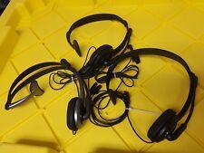 - 3x Panasonic Folding Headset (1x KX-TCA430  &2x KX-TCA400)