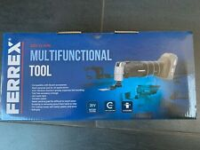 BNIB Ferrex Cordless Multi Tool 20V,Multifunction Tool + Accessories - Bare Tool