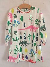 Girls White Dinosaur Dress - BNWT - Size 2-3 Years