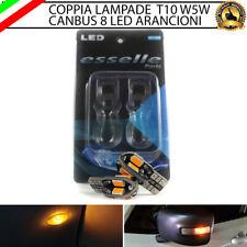 2X LAMPADE PER FRECCE LATERALI A LED LANCIA MUSA T10 8 LED CANBUS
