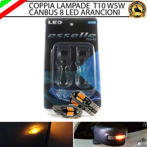 2X LAMPADE PER FRECCE LATERALI A LED PORSCHE CAYMAN (987) II T10 8 LED CANBUS