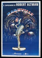 Werbeplakat Nashville Robert Altman David Arkin Baxley Beatty Carradine Blac