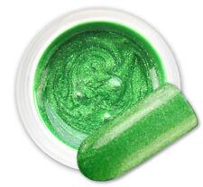 Pixys Green 077 GEL UV E LED GLITTER COLORATO RICOSTRUZIONE UNGHIE NAIL ART