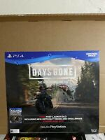 Gamestop Days Gone Exclusive Promo Store Display Poster Ps4