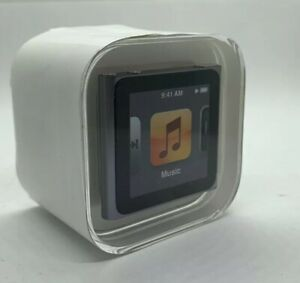 Apple Ipod Nano 6th 6. Generation Graphite 16GB Grey New Sealed