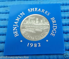 1982 Singapore Benjamin Sheares Bridge Commemorative $5 Cupro-Nickel Coin