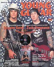 Young Guitar Magazine December 2007 Japan Avenged Sevenfold Firewind