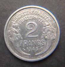 2 Francs 1945 TTB Qualite
