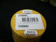 "Husqvarna P1245 3"" 400 Grit Dry Resin Concrete Polishing Pad Yellow Velcro 9 ea."