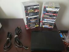 Sony PlayStation 3 Super Slim 250GB Black Console with 40 Games no controller