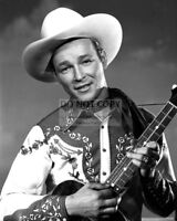 "ROY ROGERS SINGER & ACTOR ""KING OF THE COWBOYS"" - 8X10 PUBLICITY PHOTO (RT420)"