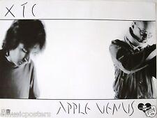 "XTC ""APPLE VENUS"" U.S. PROMO POSTER - Black & White Shot Of The Duo"